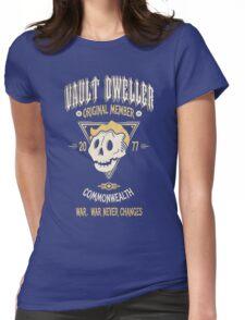 Vault Dweller - Original Member (No Border) Womens Fitted T-Shirt