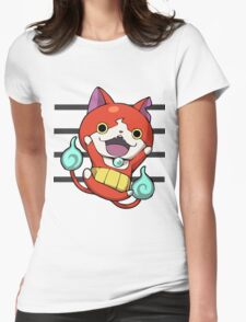 Yokai Watch : Jibanyan 2 Womens Fitted T-Shirt