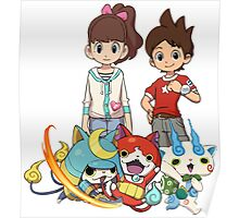 Yokai Watch : Main Character Poster