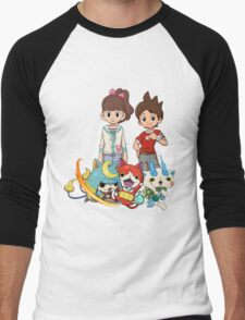 Yokai Watch : Main Character Men's Baseball ¾ T-Shirt