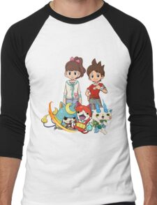 Yokai Watch : Main Character Men's Baseball ¾ T-Shirt