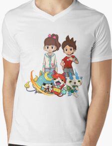 Yokai Watch : Main Character Mens V-Neck T-Shirt