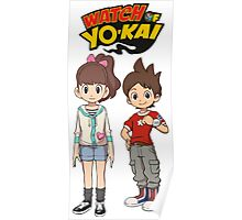 Yokai Watch : Nathan and Katie Poster