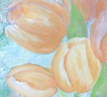 Tulips gerdasmitart Sticker