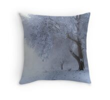 Beautifuly Cold Throw Pillow