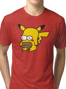 Pikahomer Tri-blend T-Shirt