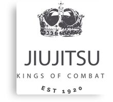 Jiujitsu - Kings of Combat Canvas Print