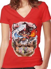 Avatar : First Avatar Women's Fitted V-Neck T-Shirt