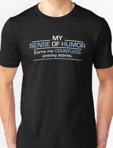 humor stares Unisex T-Shirt