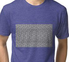 Maze Design Algorithmic Art Tri-blend T-Shirt