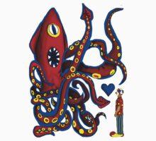 Kraken 'n' Craig One Piece - Short Sleeve