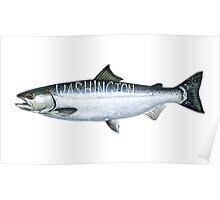 Washington Salmon Poster