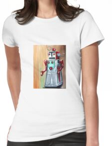 Roboman Womens Fitted T-Shirt