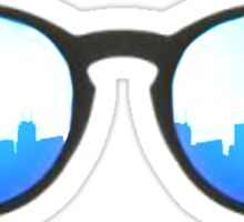 Sunglass Skyline Sticker