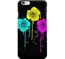 Roses in Process Colors Style iPhone Case/Skin