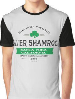 Silver Shamrock Halloween Novelties Graphic T-Shirt