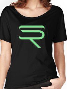 SinfullyRiddling Logo (Green) Women's Relaxed Fit T-Shirt