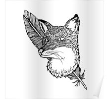 Fox Feathers  Poster
