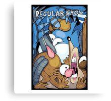 Regular Show Canvas Print