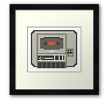 Commodore 64 Datasette Tape Recorder Framed Print