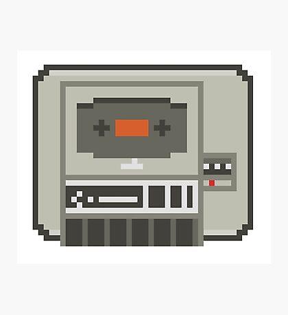 Commodore 64 Datasette Tape Recorder Photographic Print