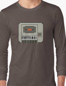 Commodore 64 Datasette Tape Recorder Long Sleeve T-Shirt
