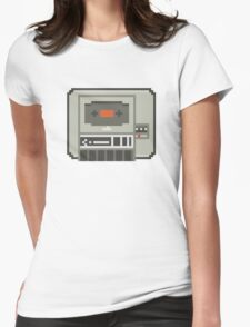 Commodore 64 Datasette Tape Recorder Womens Fitted T-Shirt