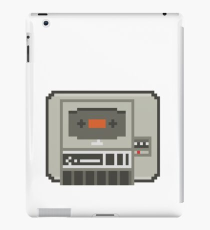Commodore 64 Datasette Tape Recorder iPad Case/Skin