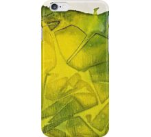 Cool Lime abstract iPhone Case/Skin