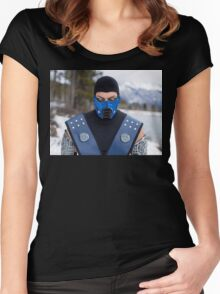 Sub Zero 3 Women's Fitted Scoop T-Shirt