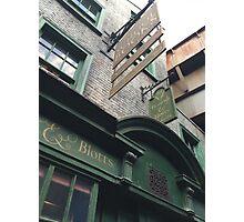 Flourish and Blotts - Harry Potter World Universal Orlando Diagon Alley Photographic Print