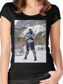 Sub Zero 4 Women's Fitted Scoop T-Shirt