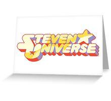 Steven Universe logo Greeting Card