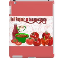 Bell Pepper & Tomato Sauce (4422 Views) iPad Case/Skin