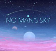 No Man's Stars Sticker