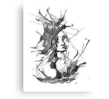 Ink Creature Canvas Print