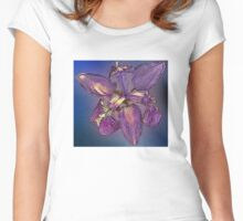 Iris With A Difference.  Women's Fitted Scoop T-Shirt
