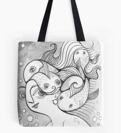 Underwater Randomness Tote Bag