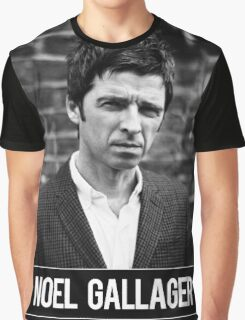 Noel Gallagher OASIS Graphic T-Shirt