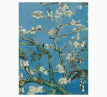 1890-Vincent van Gogh-Almond blossom-73.5x92 One Piece - Long Sleeve