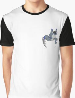 Shirt Pocket Dragon Graphic T-Shirt