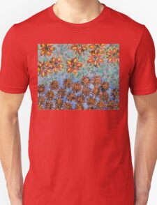Asters and Paradise Flowers Unisex T-Shirt