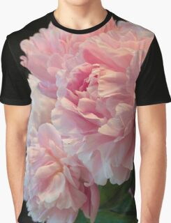 Pink Peony Passion Graphic T-Shirt