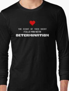 undertale - Determination Long Sleeve T-Shirt