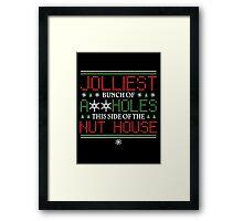 jolliest bunch Framed Print