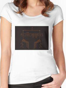Bioinformatics  Women's Fitted Scoop T-Shirt