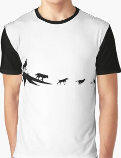 The evolution of the dog Graphic T-Shirt