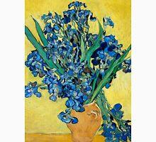 1890-Vincent van Gogh-Irises-73,5x92 Unisex T-Shirt