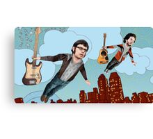 Flight Of The Conchords - Flying Canvas Print