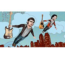 Flight Of The Conchords - Flying Photographic Print